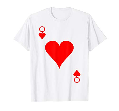 Robot Heart Costumes - Queen of Hearts Deck of Cards