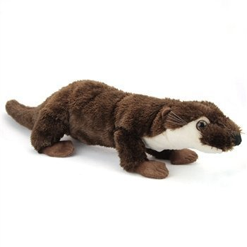 (Plush River Otter 23 Inch Conservation Critter by Wildlife Artists)