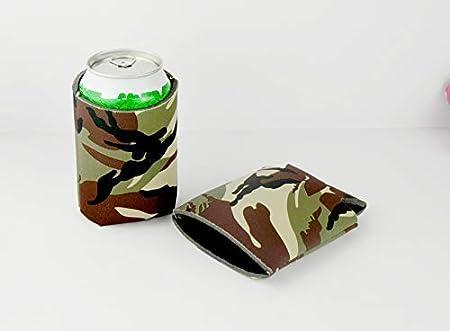 isolanti pieghevoli per fai da te eventi compleanni Blue Sohapy bomboniere feste 12 custodie vuote per bottiglie di birra per lattine e bottiglie
