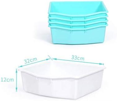 TIKKTOKK Kids Storage Organiser White with 8 Plastic Bins