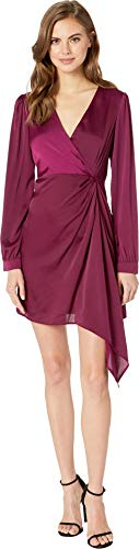ASTR the Label Women's Flash Dress, Grape, ()