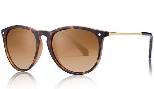 Carfia Vintage Polarized Sunglasses for Women UV400 Protection Classic Designer Style CA5100 (Carfia Vintage Womens Polarized Sunglasses With Uv400 Protection)