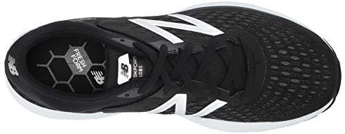 New Balance Men's 1080v9 Fresh Foam Running Shoe, Black/White, 7.5 D US by New Balance (Image #8)