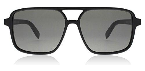 Saint Laurent SL 176 001 Black SL 176 Square Aviator Sunglasses Lens Category - Womens Sunglasses Laurent Saint