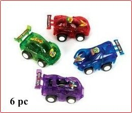 Amazon Com Wd Pull Back Race Cars Piece Assorted Color Toys