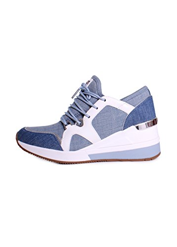Sneakers Michael Kors Scout Fashion In Denim Lavato