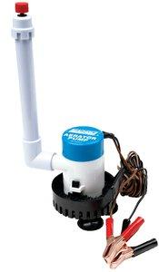 Seachoice 19471 12V Live Bait Aerator Kit – Submersible – Portable – Adjustable – 360 GPH ()