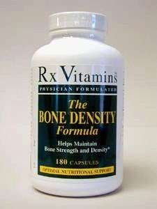 - Rx Vitamins Bone Density Formula 180 caps by Rx Vitamins