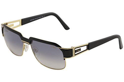 Cazal Legends Men's 9068 001SG Black/Gold Fashion Square Sunglasses - Cazals Sunglasses