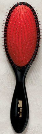 Phillips Brush #11 Metal Bristles With Red Cushion ()