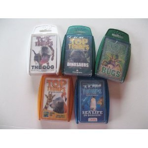 Top Trumps Card Game - Creature - 5-pack Bundle with Dog,...