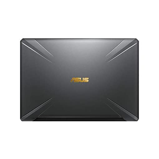 "ASUS TUF Gaming FX705GM-EV020 - Ordenador portátil 17.3"" FHD 144Hz (Intel Core i7-8750H, 16GB RAM, 1TB HDD + 256GB SSD, Nvidia GTX1060 6GB, sin sistema op.) Metal y Oro - Teclado QWERTY Español 4"