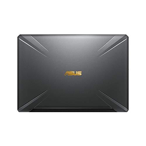 "ASUS TUF Gaming FX705GM-EV020 - Ordenador portátil 17.3"" FHD 144Hz (Intel Core i7-8750H, 16GB RAM, 1TB HDD + 256GB SSD, Nvidia GTX1060 6GB, sin sistema op.) Metal y Oro - Teclado QWERTY Español 7"