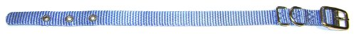 Hamilton 5/8-Inch by 14-Inch Single Thick Nylon Deluxe Dog Collar, Berry Blue (Collar Berry Dog)
