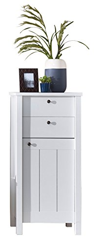 Stella Trading Sideboard Highboard Kommode Stauraumelement Weiss