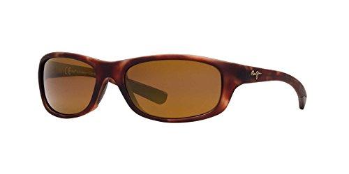 Maui Jim Sunglasses - Kipahulu / Frame: Matte Tortoise Rubber Lens: HCL Bronze