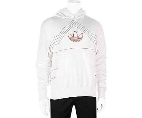 afb8cedb9e adidas Men's Adidas Patrick Ewing Rivalry Hoodie m D(M) US White/Raw ...