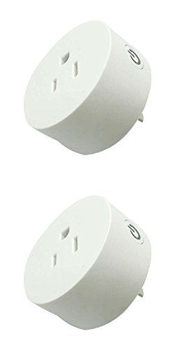 Welcomeget Wifi Mini Smart Plug, Works with Amazon Alexa, Googe Home IFTTT via Smart Life APP for Home or Office (Circle 2 Pack)