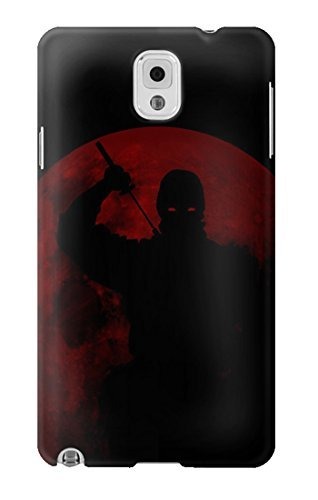 R2558 Ninja Shadow Red Moon Case Cover For Samsung Galaxy ...
