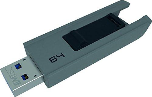 EMTEC ECMMD64GB253 Flash Drive - 64GB USB 3.0 B252 Slide
