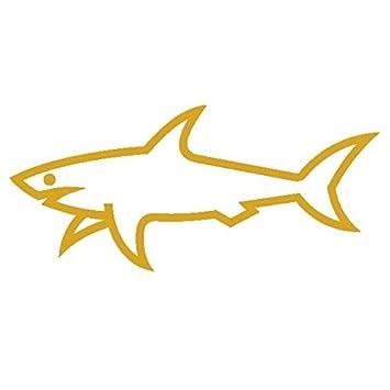 Paul Shark &-Pegatinas Prespaziato-dorado-20 cm: Amazon.es: Coche ...