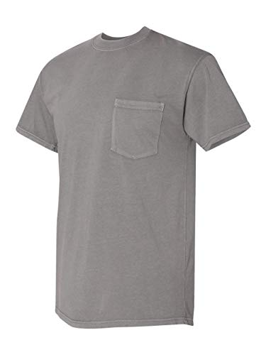 (Next Level Adult Inspired Dye Crew With Pocket (7415) -Lead -L)
