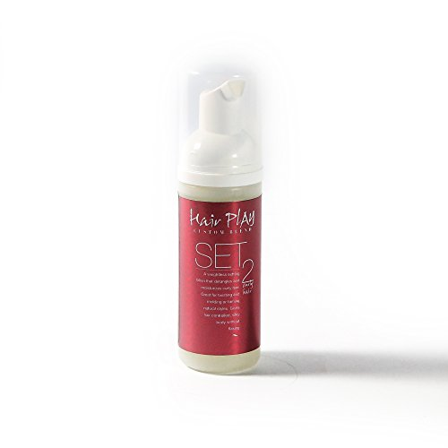 Hair Play SET #2 Medium Hold Hair Styling Foam. Hair Setting Lotion / Mousse for Dense, Frizzy or Curly Hair (2 Oz)