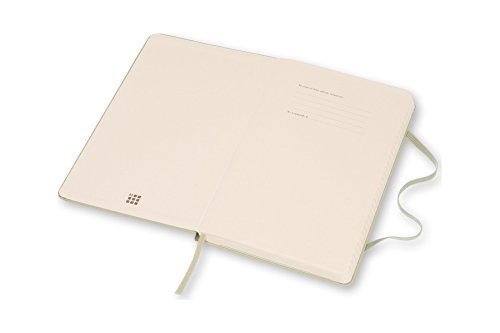 Moleskine Classic Notebook, Large, Ruled, Willow Green, Hard Cover (5 x 8.25) by Moleskine (Image #2)