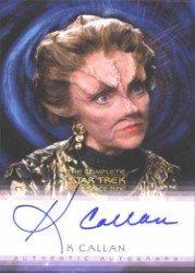 (Quotable Star Trek Deep Space Nine K Callan Autograph Card)