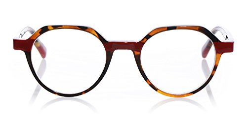 eyebobs Cheap Therapy, Tortoise with red accents, Reading Glasses SUPERIOR QUALITY-$89 – because your eyes deserve the good stuff ()