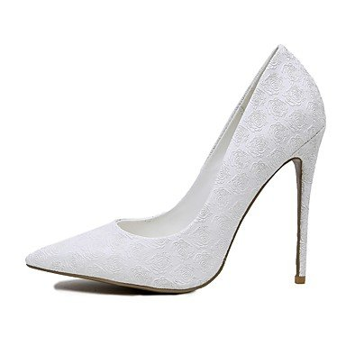 Us5 Stiletto CN34 Heels EU35 amp;Amp; Evening Party Heel Summer Zormey Eu36 Customized Uk3 Materials 5 US5 Cn35 5 White Winter Spring Fall White Wedding Women'S UK3 awng4pq7