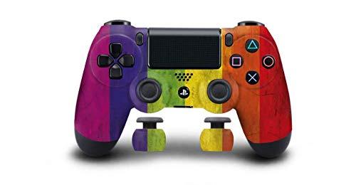 Pride Flag Playstation 4 PS4 Dual Shock 4 Wireless Custom Controller (Pride Flag)