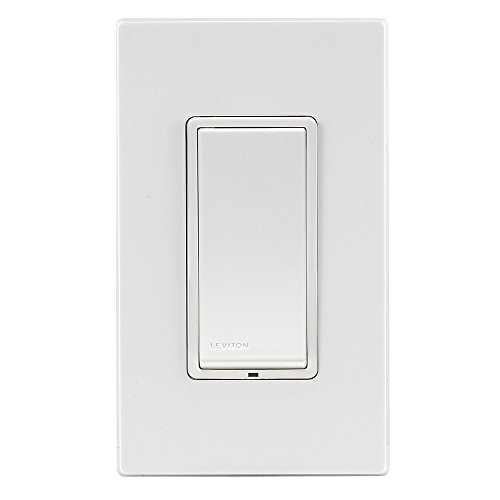 Leviton Decora Switch, Z-Wave, 15-Amp, Scene Capable, Works