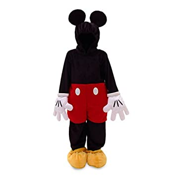 Disney official: - Disfraz Mickey Mouse para niño / carácter traje / Disfraz lujo para - 3 años