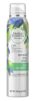 Herbal Essences Bio:Renew Blue Ginger Refresh Dry Shampoo 4.