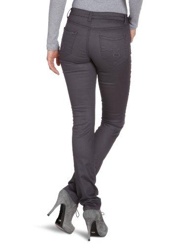 Object - Pantalón slim para mujer Gris (Magnet)