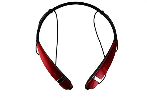Stereo Bluetooth Headset (Red) - 3