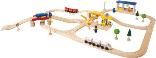 PlanToys Road & Rail City Transportation Play Set by PlanToys