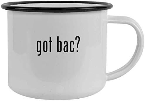 got bac? - 12oz Stainless Steel Camping Mug, Black