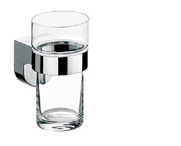 Kristallglas klar Emco 332000100 Glashalter Mundo Chrom