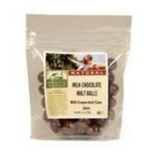 Milk Malted Balls Vanilla - Blue Marble Milk Chocolate Malt Balls with Evaporated Cane Juice, 15 Pound