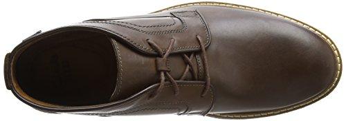 Clarks Herren Newkirk Up GTX Klassische Stiefel Braun (Brown Leather)