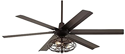 "60"" Turbina Max Nostalgic Bronze Ceiling Fan"