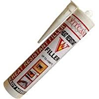 Vitcas Heat Resistant Filler Up To +1000°C - 310ml High Temperature