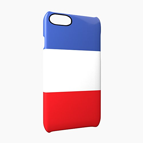 Flag of France Glossy Hard Snap-On Protective iPhone 7 Case Cover