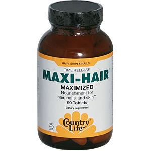 Country Life - Maxi-hair maximisée, 90 onglet, pack de 3