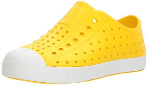 Price comparison product image Native Kids unisex-kids Jefferson  Water Shoe,crayon yellow/shell white,3 Medium US Little Kid