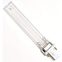 PERFECT - SunSun 9 Watt UV Replacment Bulb G23 2 Pin Base for JUP-01, HW-303B, HW-304B, CF400UV, CF500UV