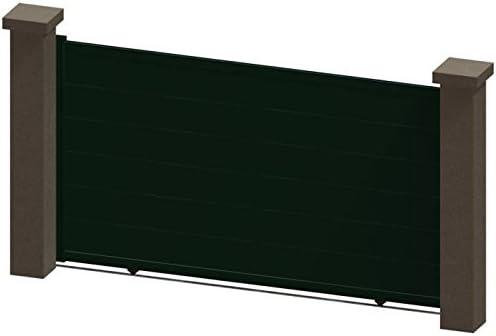 Alrededor del Portal PRD Aucun 2082e16b Kali puertas correderas de aluminio Manual, Verde, 3,5 m: Amazon.es: Bricolaje y herramientas