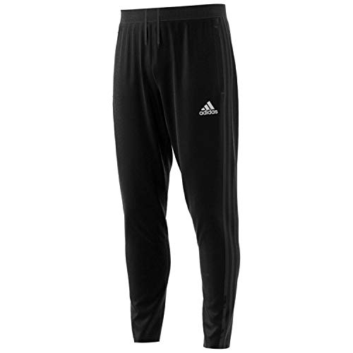 adidas Men's Condivo 18 Training Pant, Black/White, Medium